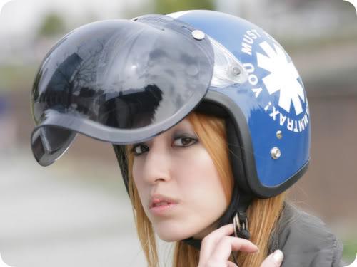 mũ bảo hiểm phượt nữ