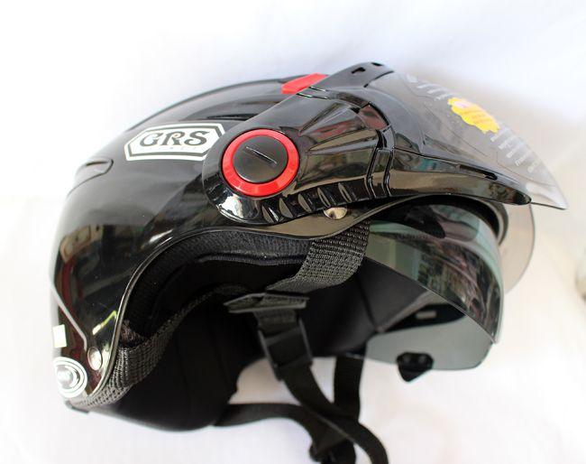 mũ bảo hiểm có hai kính GRS a966k