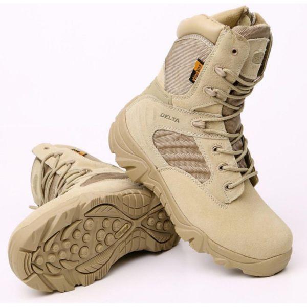 giày boot lính mỹ cao cổ Delta